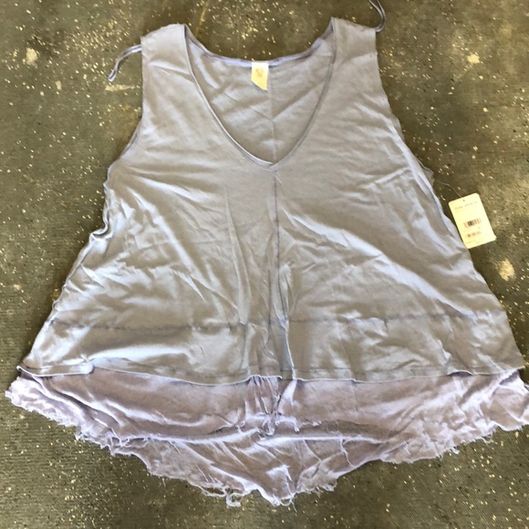 Free People Tops - Free people sleeveless top size large NWT